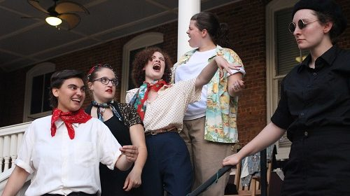 SPECIAL PREVIEW: Scrappy Shakespeare Brings Twelfth Night to the 1950's at Converse College
