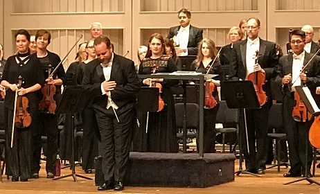 REVIEW:  Spartanburg Philharmonic Orchestra Debuts Maestro-In-Waiting Stefan Sanders