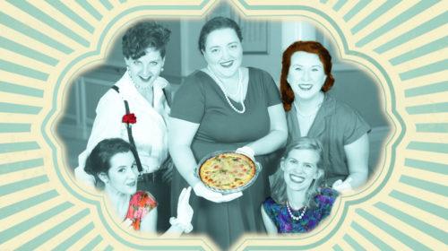 """Proud Mary Theatre Presents '5 Lesbians' Preview in """"Nouveau 9"""" Exhibit at ArtWalk Thursday"""