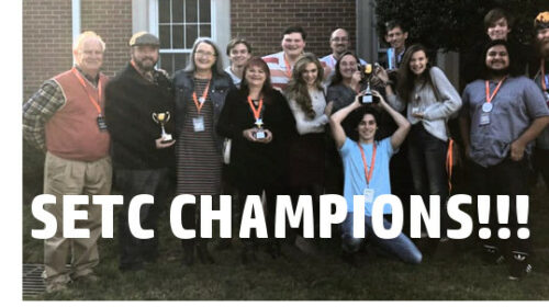 Mill Town Players Frickin' WIN SETC, Advance to Nationals