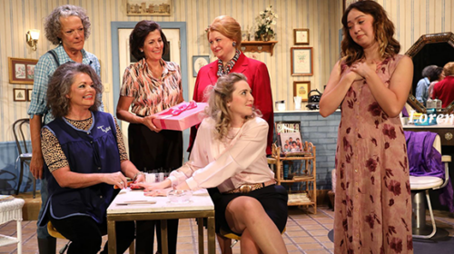 REVIEW: Mill Town Players Re-Open with Top-Notch 'Steel Magnolias'