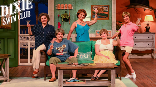 REVIEW: Greenville Theatre Reopens with Laughs and Tears in 'Dixie Swim Club'