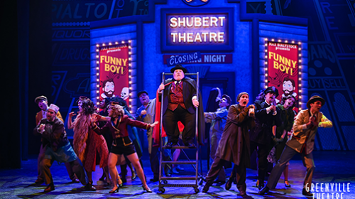 REVIEW: Max Quinlan Blasts Off at  Greenville Theatre with 'The Producers'