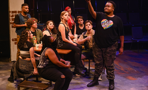REVIEW: Centre Stage Has Audiences in a Good-Time 'Godspell'