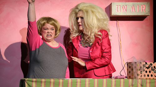 REVIEW: All Out War, Sweet Laughs in Mill Town Players' 'Red Velvet Cake' Comedy