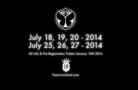 TomorrowLand Expands To Two Weekends in 2014