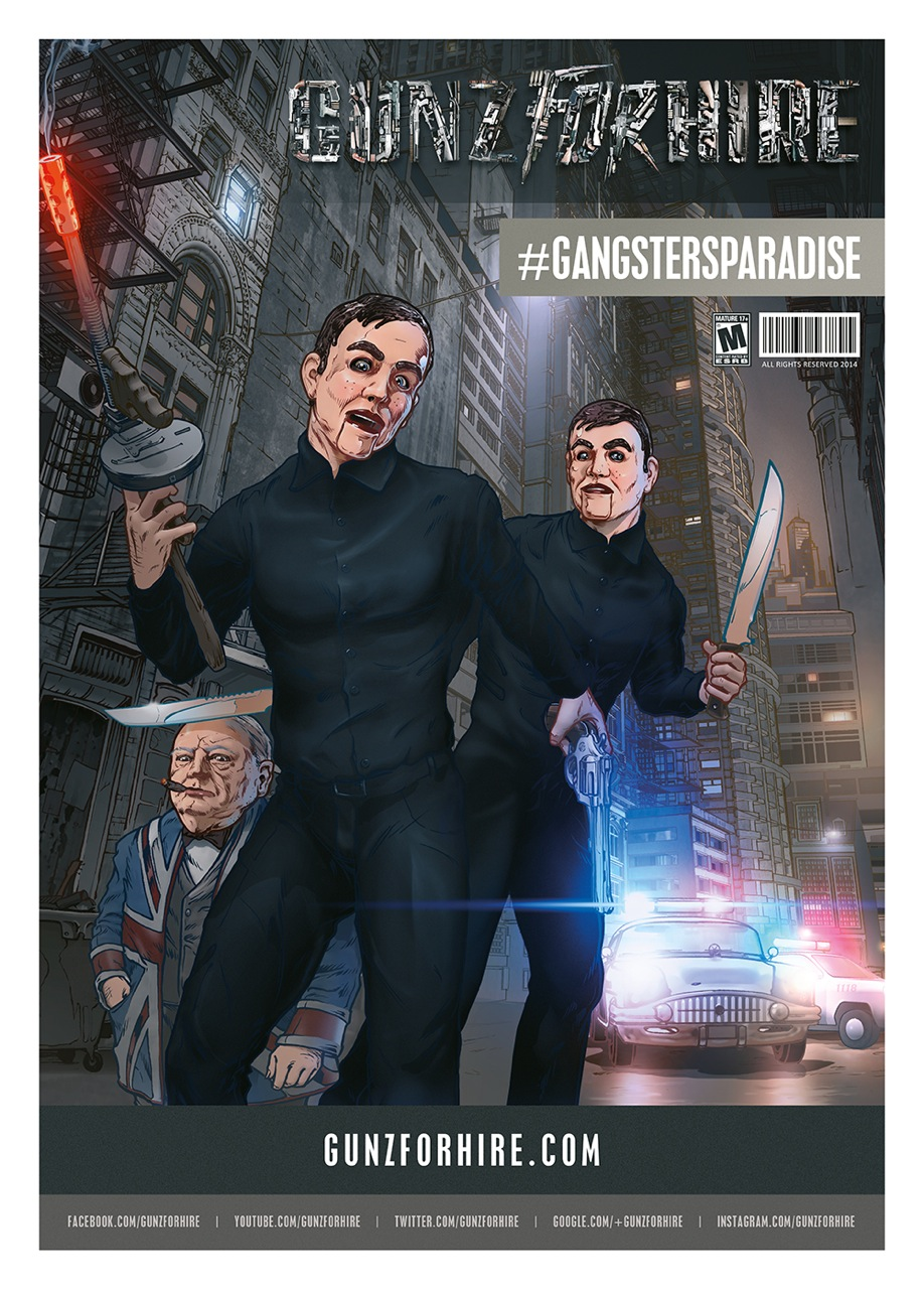 G4H-#GANGSTERSPARADISE_WEB POSTER