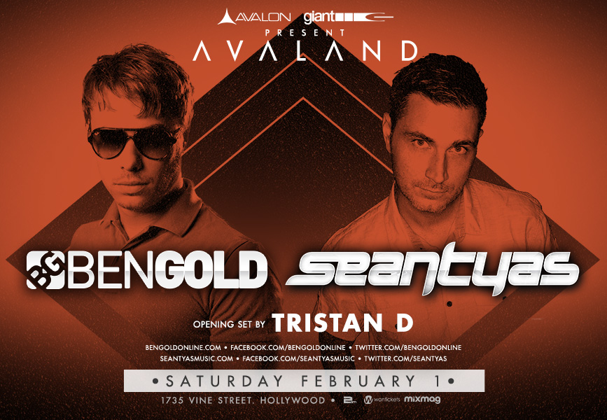 Event Preview: Ben Gold and Sean Tyas at Avalon