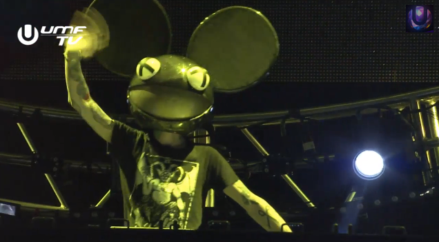Deadmau5 Trolls Ultra Music Festival