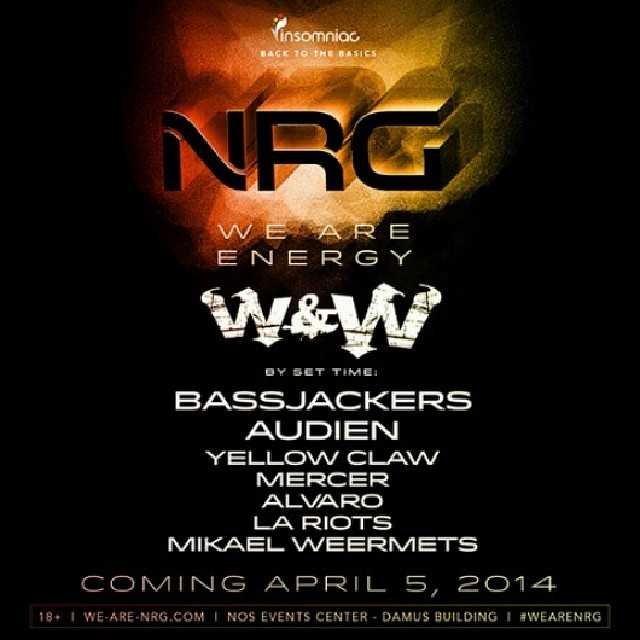 Insomniac Events Returns To San Bernardino For We Are NRG (SOLD OUT!)
