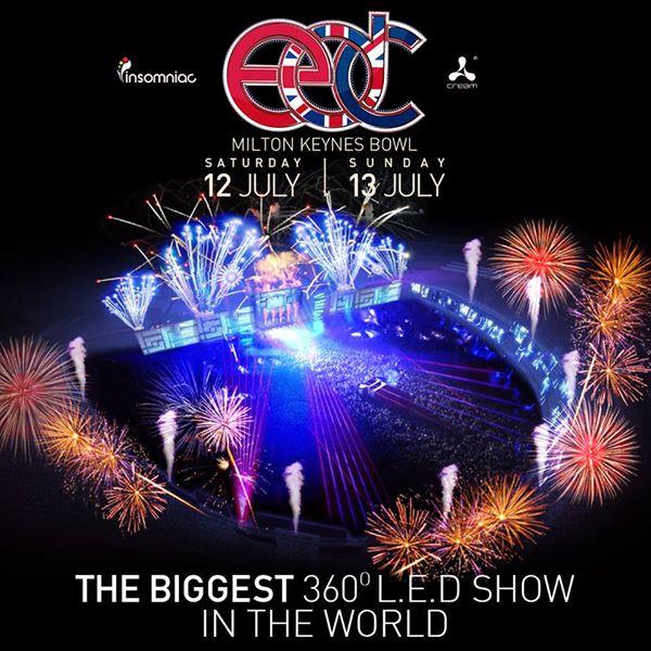 The World's Largest 360° LED Show Coming To EDC UK