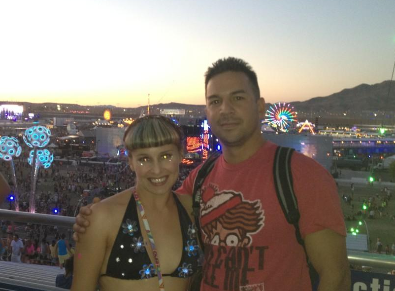 Married (At EDC) With Children: Meet Matt And Alli Who Got Married At EDC Las Vegas 2013