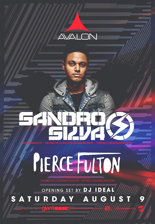 Win A Meet & Greet with Sandro Silva at Avalon Hollywood on August 9th!