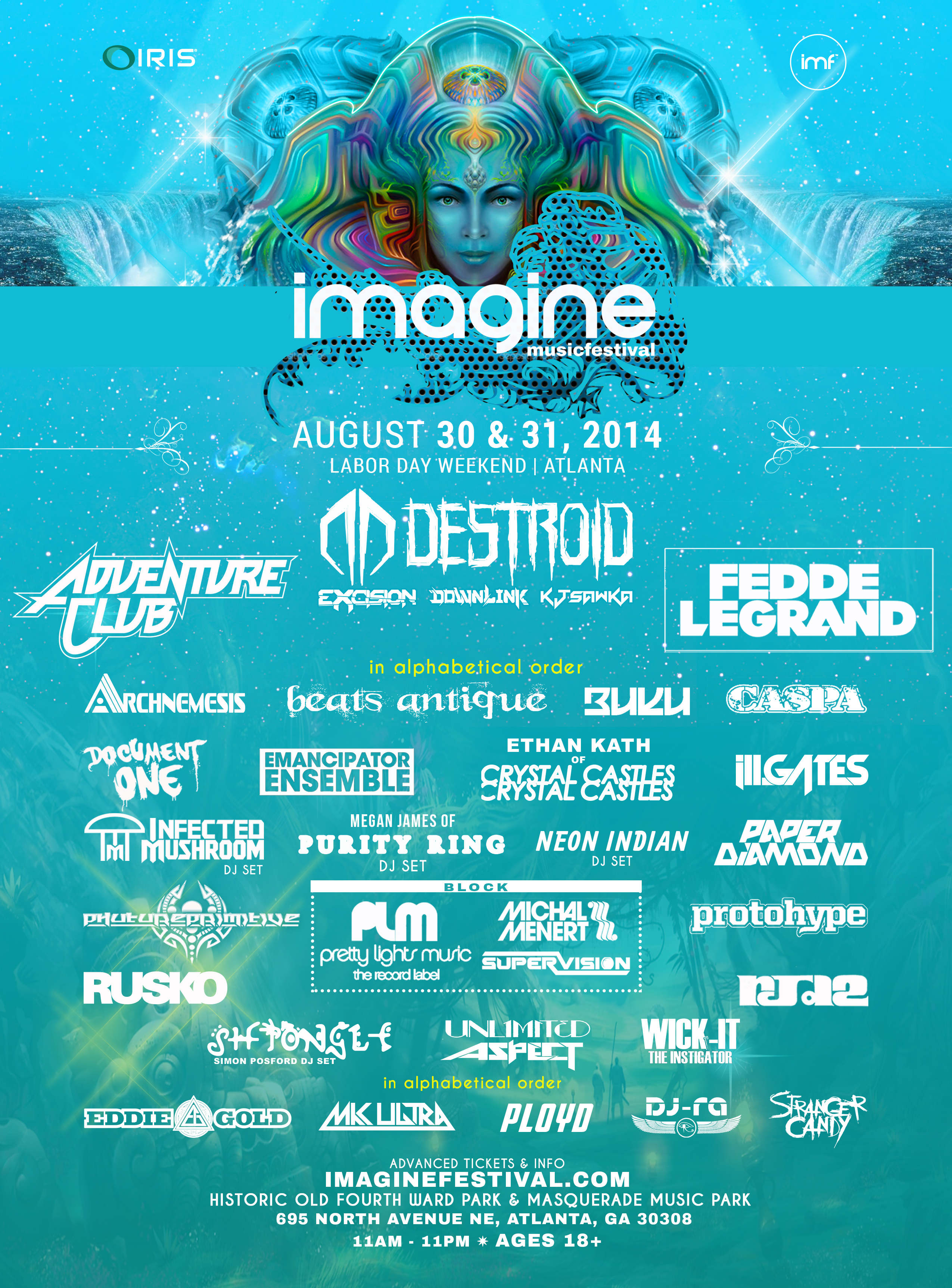 Win Tickets To Imagine Music Festival In Atlanta