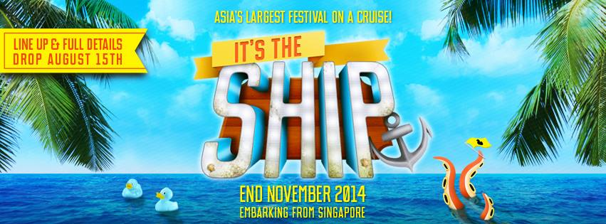 Asia's Biggest Boat Party: It's the Ship