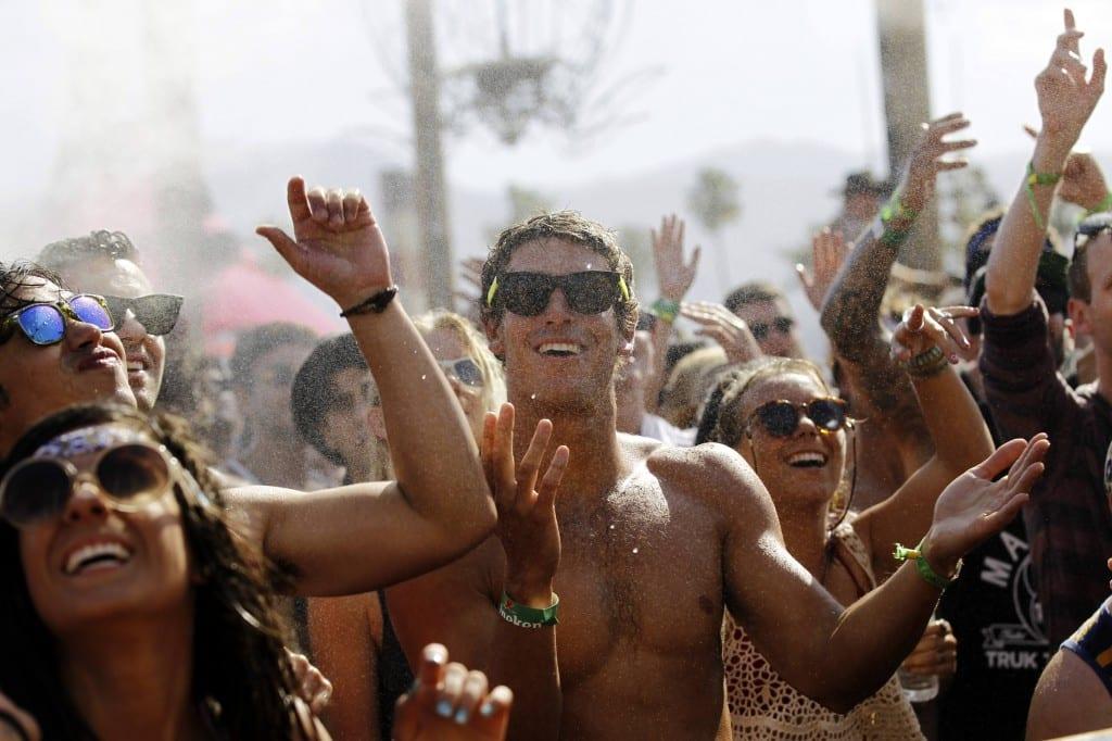 Free water music festivals