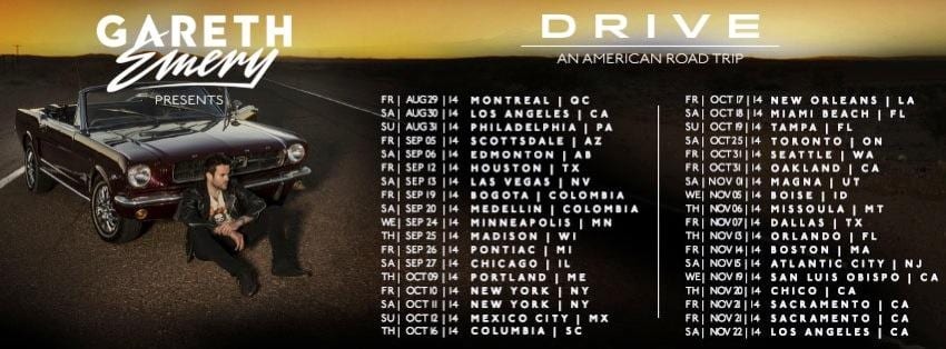 Gareth Emery Drive Tour USA