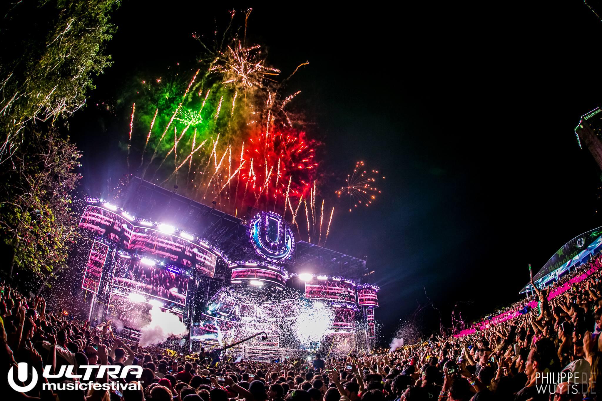 Dancing In The Rain: Ultra Music Festival Day 1 Recap