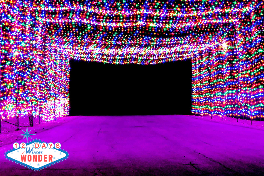 Glittering Lights light up Las Vegas Motor Speedway
