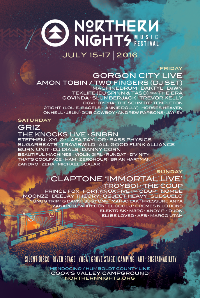 Northern Nights 2016 Poster