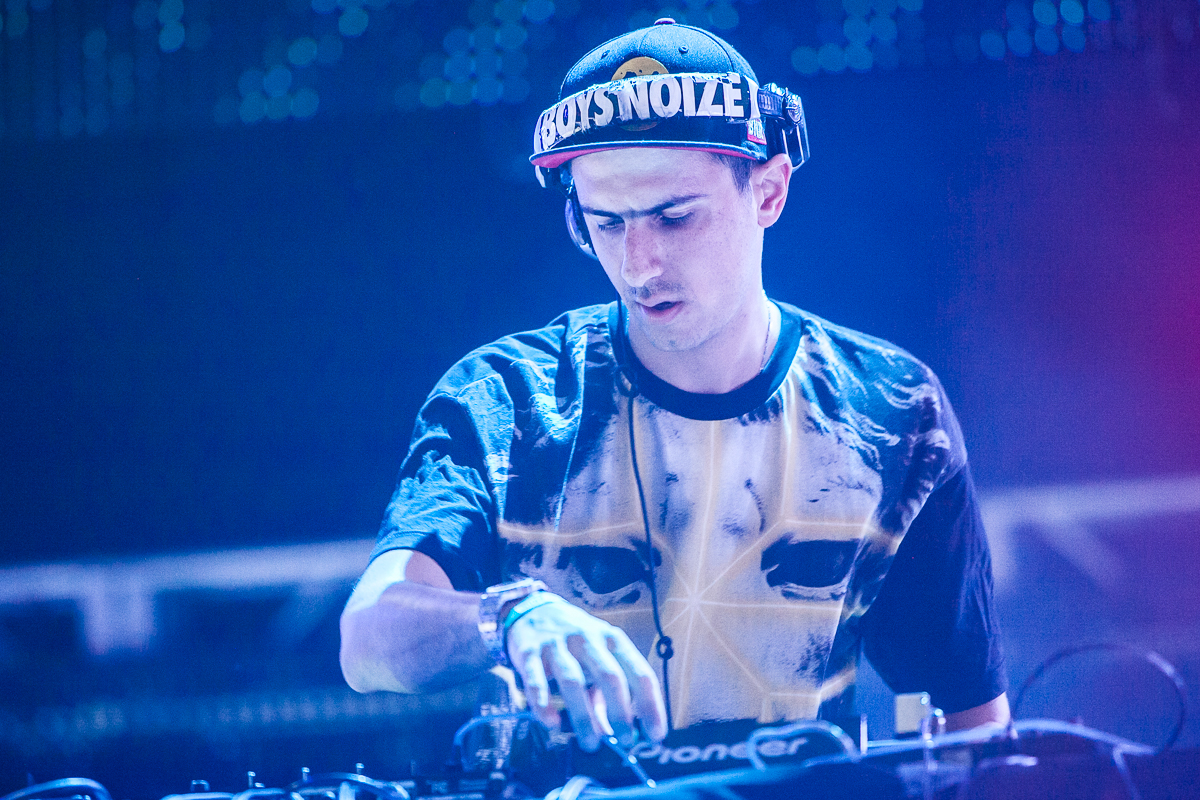 I Partied With Boys Noize At A Warehouse Rave And Here's How It Went