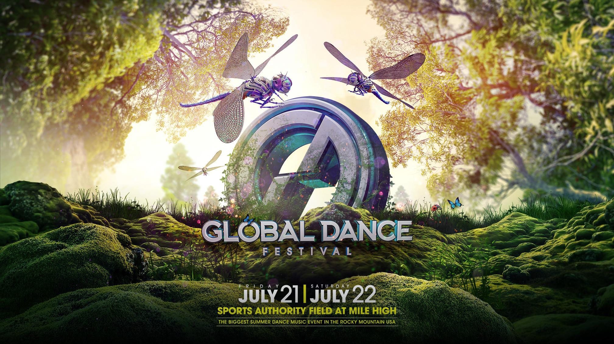 Global Dance Festival Announces 2017 Initial Lineup