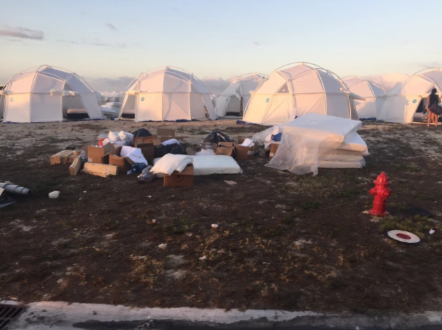 'Fyre Festival' Turns Into A Hot Mess