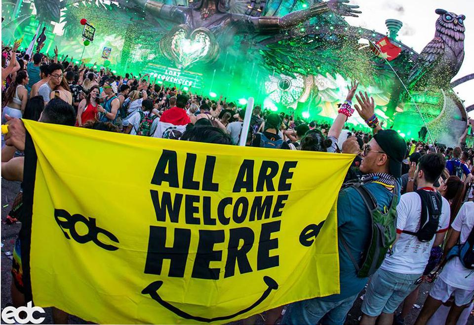 EDC rave people