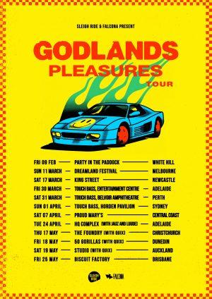 Godlands Pleasures Tour