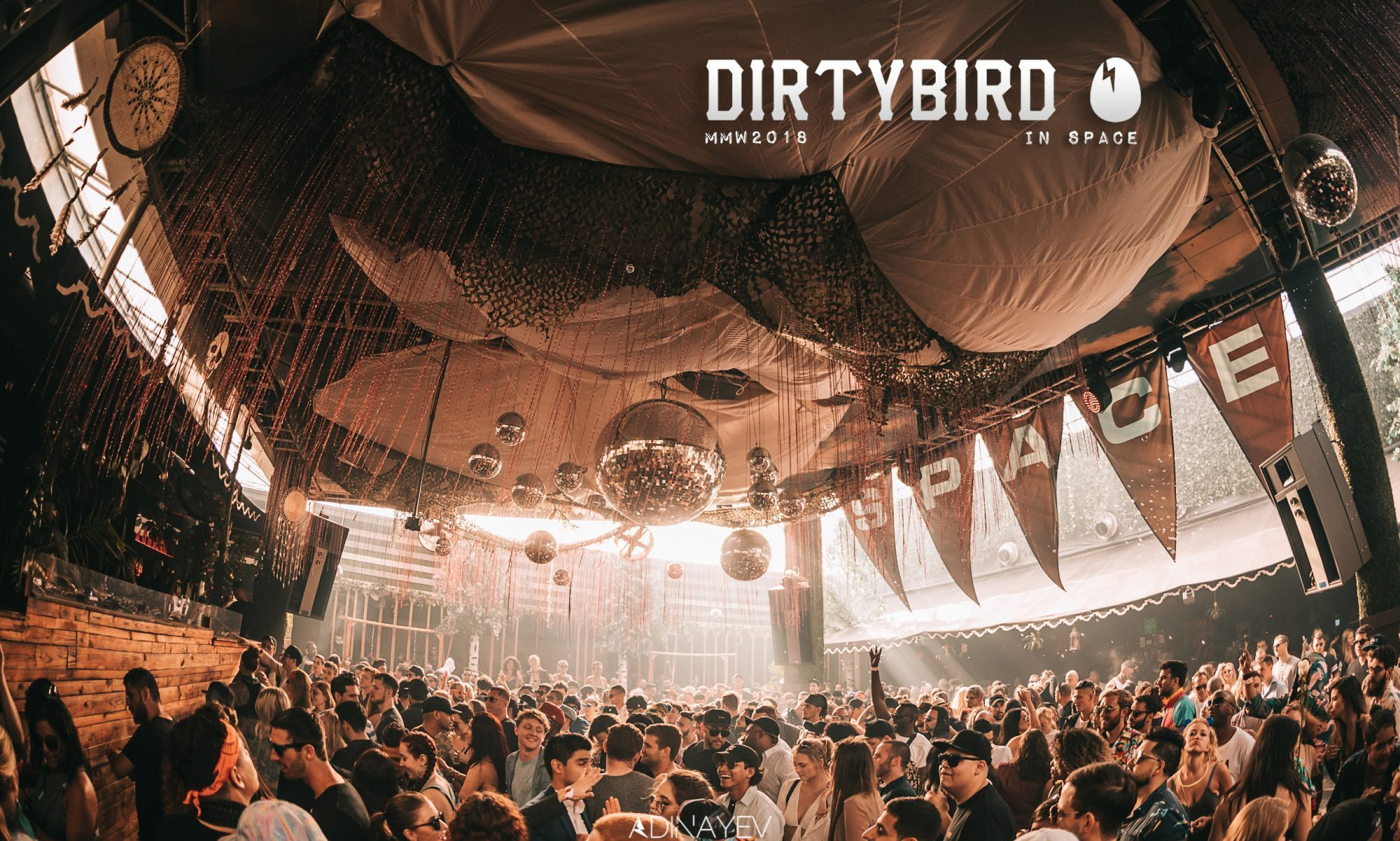 Shake Your Tail Feather this MMW with Dirtybird Players at Space