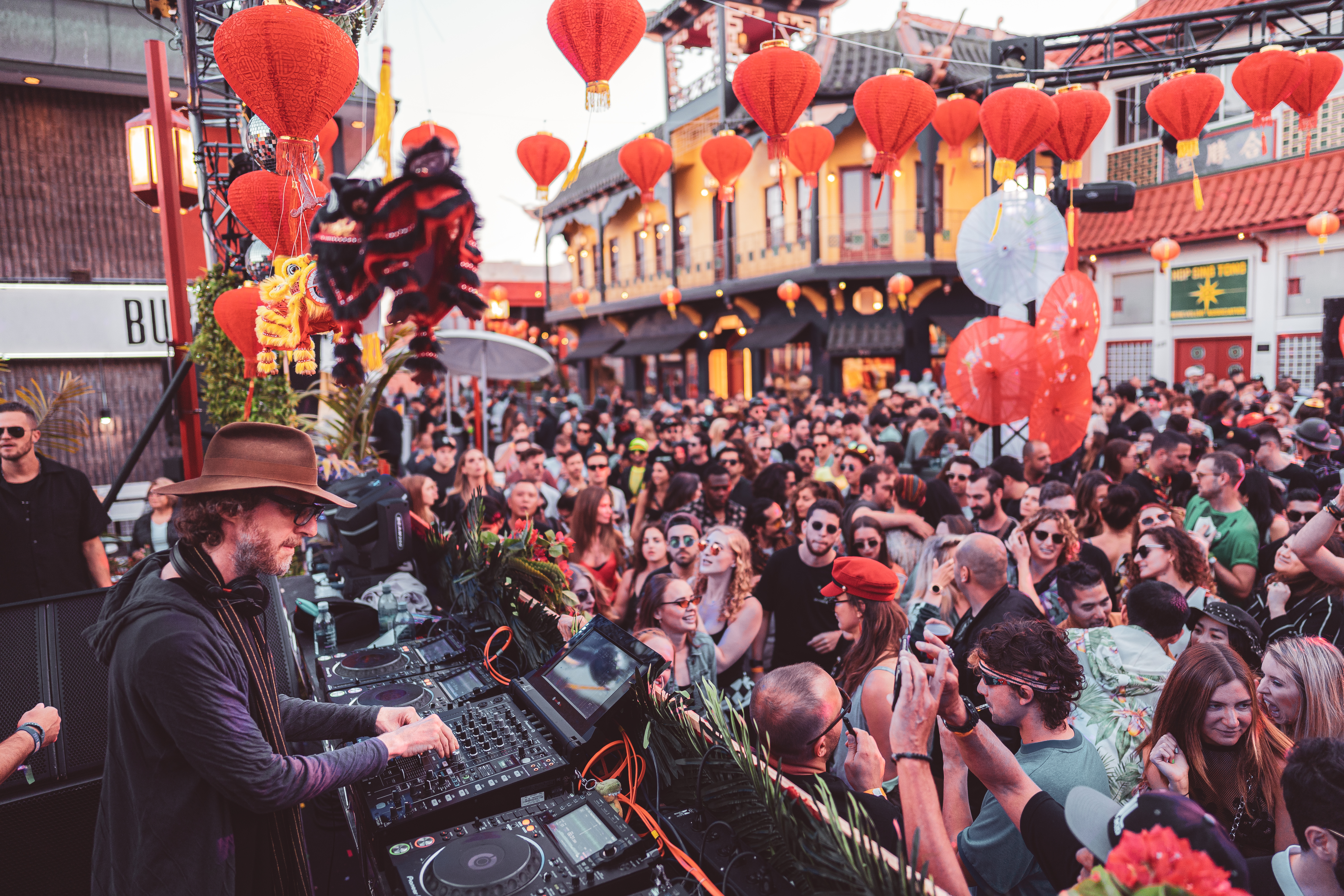 Relive DJ Tennis & Acid Pauli's Chinatown Takeover