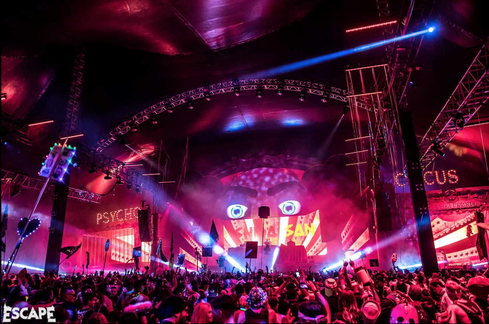 Insomniac Announces Annual Return of Escape: Psycho Circus
