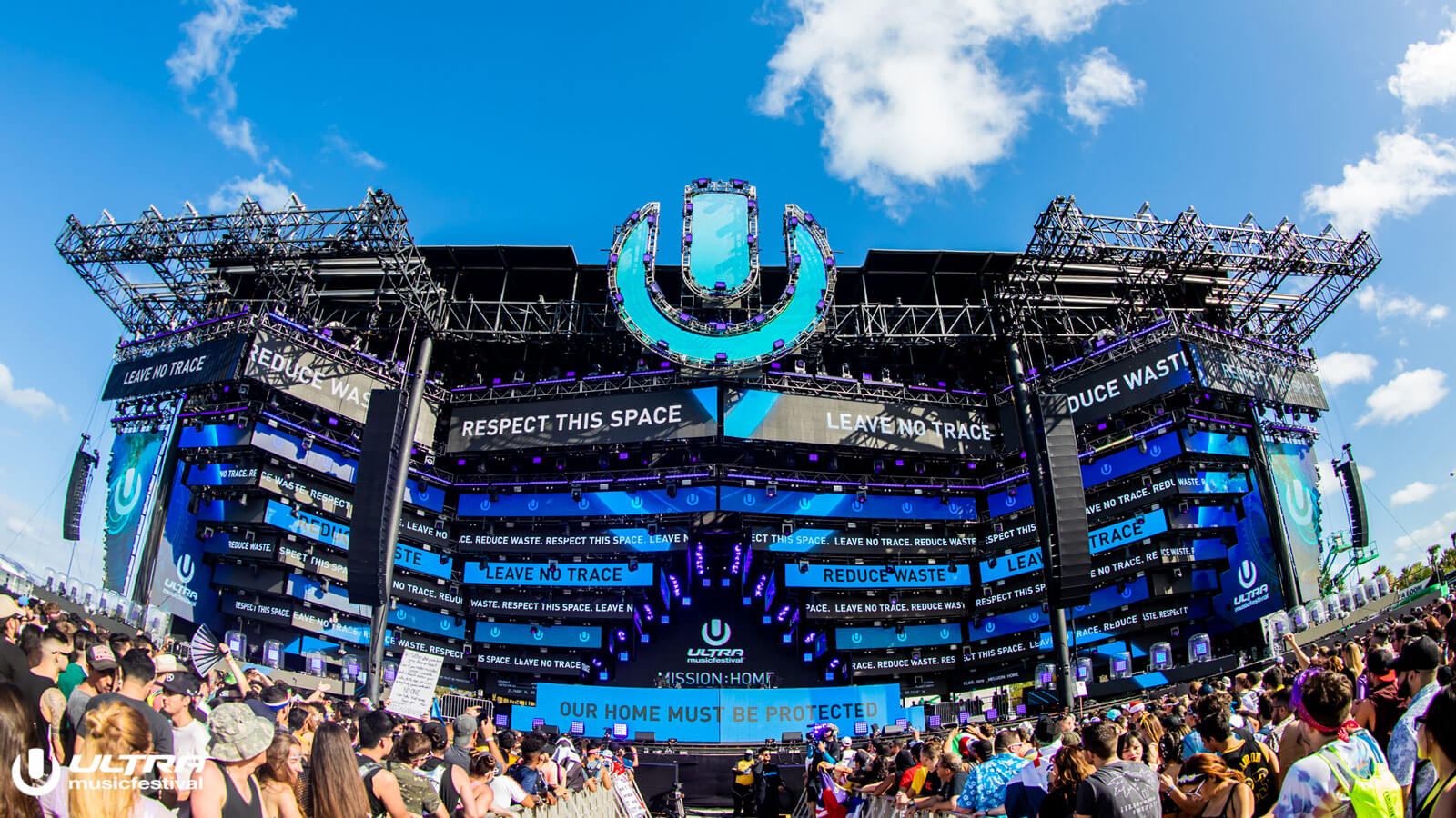 Ultra Music Festival Commits to Continuing 'Mission: Home' Environmental Campaigns