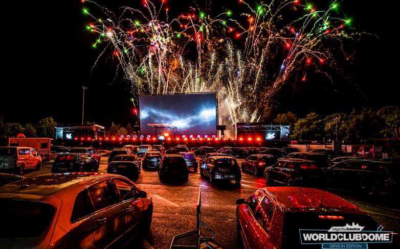 """Germany Hosts World's First """"Drive-In Rave"""" With Fireworks And Everything"""