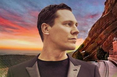 Tiesto Announces Livestream From The Iconic Red Rocks Amphitheatre
