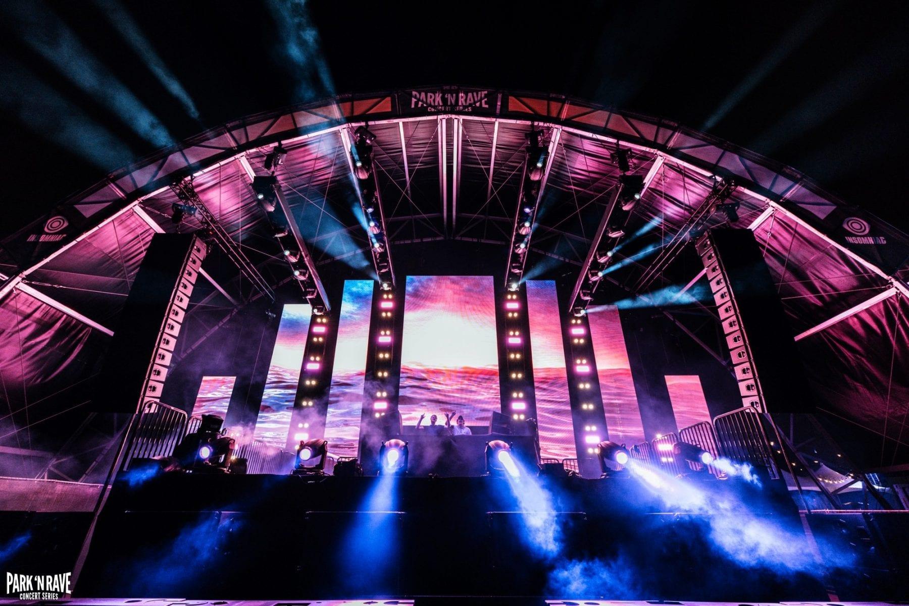 Insomniac Celebrates 50th Park 'N Rave Concert Series Show