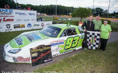Another Mackesy in victory lane as Dillon wins first limited late feature