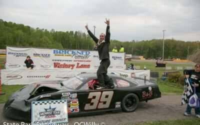 Morrissey holds on to win caution-free Cabin Fever 100