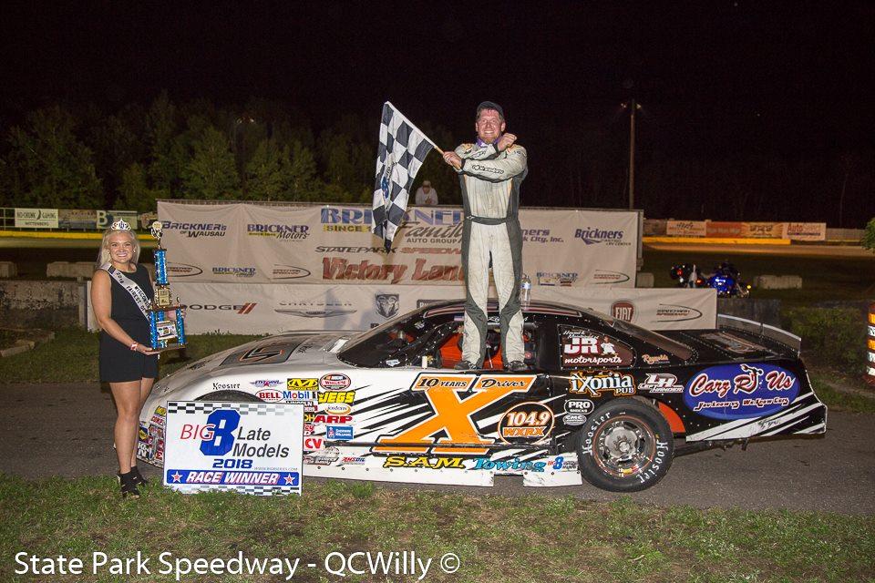 'Driver X' Reynolds wins Detjens Big 8 Late Model Feature