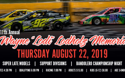 Lodi Memorial Schedule and SLM Entry Form