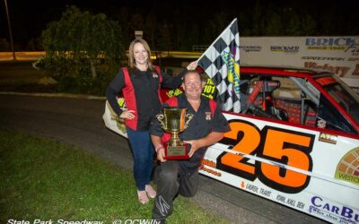 Schramm, Blount hold on to clinch championships; Ferge reigns in mini stocks