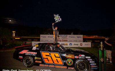 Guralski, Gajewski notch State Park firsts, Schoone wins in mini stocks