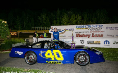 Jeremy Lepak returns to Victory Lane with SPS super late feature win