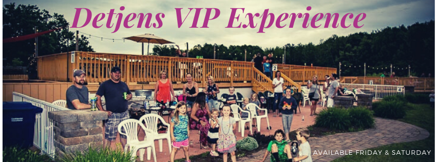 VIP Experience Available for Detjens Memorial Weekend
