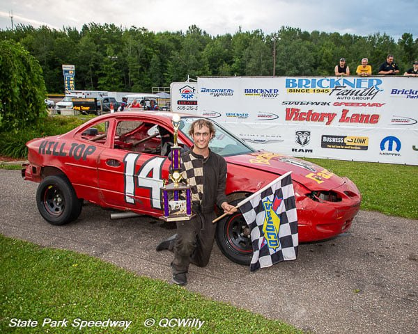 Breitenfeldt, No. 14 a feature winner again at State Park Speedway; Blount, Cabelka, Hartwig add feature wins