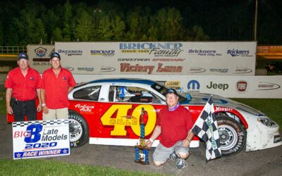 Veteran Gille a winner in Big 8 Series, at SPS for first time