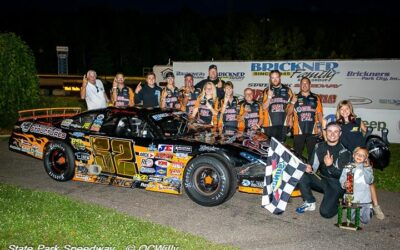 Heinrich wins the battle this time for first-ever super late model feature win