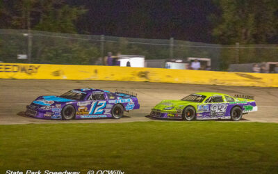 Uncle holds off nephew as Mackesy family 1-2 in super late model main