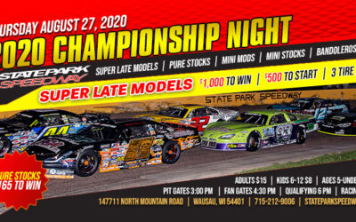 Championship Thursday and $1,000 to Win for Super Late Models