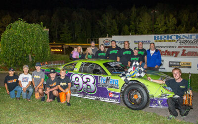 Second no more, Dillon Mackesy wins first super late model feature